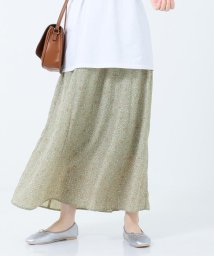 SHARE PARK /【洗える】Aラインフラワープリントスカート/503027849