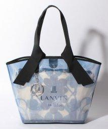 LANVIN en Bleu(BAG)/ブーケ トートバッグ/502999265