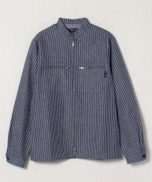 agnes b. HOMME/RIW4 CHEMISE ストライプシャツジャケット/503014461