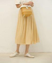 SAISON DE PAPILLON/ウエストメローギャザースカート/503019742
