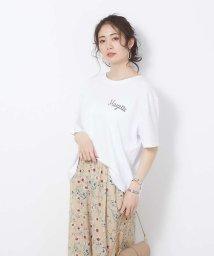 Rouge vif la cle/【SHAMAN】ショートTシャツ MAZETTE/503027939