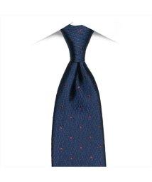 BRICKHOUSE/ネクタイ 絹100% ネイビー系 ドット柄 ビジネス フォーマル/503028310