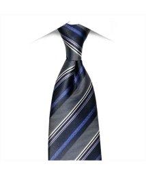 BRICKHOUSE/ネクタイ 絹100% ネイビー系 ストライプ柄 ビジネス フォーマル/503028311