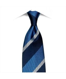 BRICKHOUSE/ネクタイ 絹100% ブルー系 ストライプ柄 ビジネス フォーマル/503028312