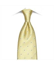BRICKHOUSE/ネクタイ 絹100% イエロー系 小紋柄 ビジネス フォーマル/503028317