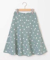 a.v.v(KID'S)/[160]【洗える】ドットプリントスカート[WEB限定サイズ]/502883982