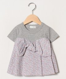 b-ROOM/ビスチェレイヤード風Tシャツ/503001100