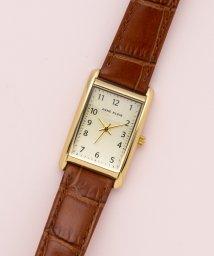 ANNE KLEIN/ANNE KLEIN 腕時計 クラシカルレザースクエアウォッチ/503023457