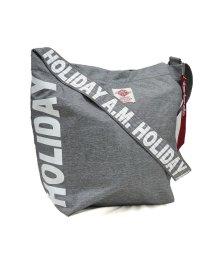 Holiday A.M./ショルダーバッグ メンズ レディース 斜めがけ ロゴ プリント 大容量 HolidayA.M. ホリデーエーエム/503025892