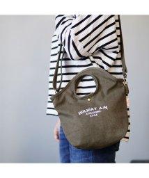 Holiday A.M./バッグ 2WAY ショルダーバッグ トートバッグ 帆布 キャンバス レディース メンズ HolidayA.M./503025922