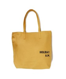 Holiday A.M./バッグ トートバッグ 帆布 キャンバス レディース メンズ 収納充実 コースター付き HolidayA.M./503025924