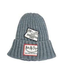 Keys/帽子 ニット帽 メンズ レディース リブニット タグ ワッペン ニットキャップ ワッチ キーズ Keys/503025938