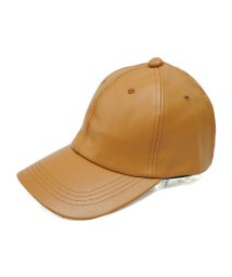 Keys/帽子 キャップ メンズ レディース フェイクレザー ベースボールキャップ 無地 合皮 秋 冬 春 キーズ Keys/503025962