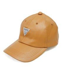 Keys/帽子 キャップ メンズ レディース フェイクレザー ベースボールキャップ 合皮 ワッペン 秋 冬 春 Keys/503025963