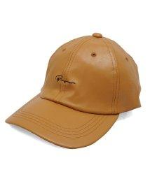 Keys/帽子 キャップ メンズ レディース ベースボールキャップ フェイクレザー ロゴ 刺繍 春 秋 冬 キーズ Keys/503025993