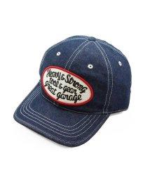 PENNANT BANNERS/帽子 キャップ メンズ デニム ジーンズ BBキャップ パッチ ワッペン PENNANTBANNERS/503029688