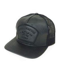 PENNANT BANNERS/帽子 キャップ メンズ レディース メッシュキャップ フェイクレザー ワッペン アメカジ PENNANTBANNERS/503029692