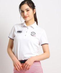 adabat/【吸水速乾/UVカット/遮熱】ロゴ刺しゅう半袖ポロシャツ/503029780