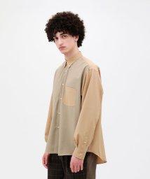LOVELESS MENS/【LF】ポリボイル B.D ワイドシャツ/502885445