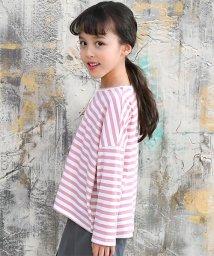 子供服Bee/ボーダービッグTシャツ/502976238