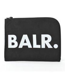 BALR/【BALR.(ボーラー)】U-Series Nylon Laptop Sleeve ナイロン クラッチバッグ PCケース Black 鞄 メンズ/503019998
