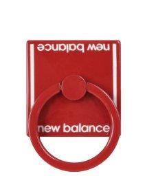 Mーfactory/md-74264-3 New Balance [スマホリング/ベーシック/レッド]/503021614