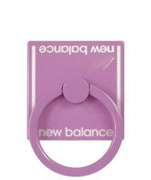 Mーfactory/md-74264-4 New Balance [スマホリング/ベーシック/ピンク]/503021615