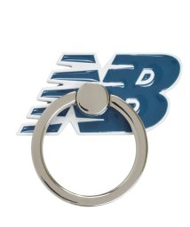 Mーfactory/md-74265-2 New Balance [スマホリング/フライングロゴ/ネイビー]/503021617