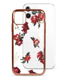 Mーfactory/74489-1 iPhone 11 Pro rienda[メッキクリアケース/Red Flower/レッド]/503021626