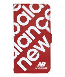 Mーfactory/74475-2 マルチ手帳 New Balance [スタンプロゴ/レッド]/503028849