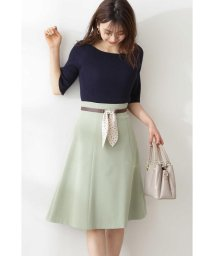 PROPORTION BODY DRESSING/◆スカーフベルト付フレアスカート/503030749