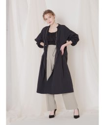 MIELIINVARIANT/Light Long Blouson/503030811
