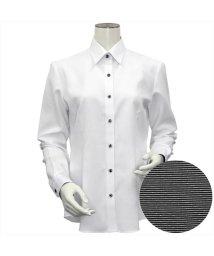 BRICKHOUSE/シャツ 長袖 形態安定 レギュラー衿 透け防止 レディース ウィメンズ/503030883