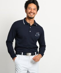 adabat/【吸水速乾】胸ポケット付き長袖ポロシャツ/503031172