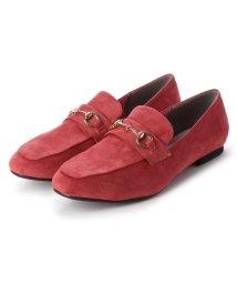 masyugirl/マシュガール masyugirl 【4E/幅広ゆったり・大きいサイズの靴】 スクエアトゥビット付きローファー (ピンク) SOROTTO/503032061