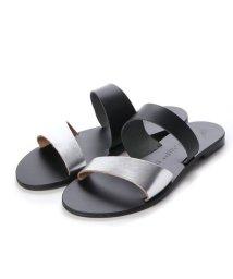 NICOLAS LAINAS/ニコラス ライナス NICOLAS LAINAS サンダル (SILVER/BLACK-BLACK SOLE)/503032239