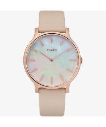 TIMEX/タイメックス TIMEX トランセント ピンクストラップ(マザーオブパール)/503035444