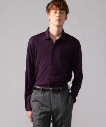TOMORROWLAND MENS/ウールジャージー セミワイドカラーシャツ REDA ACTIVE UTILITY/503035705