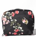 LeSportsac/SQUARE COSMETIC ガーデンローズ/LS0023652