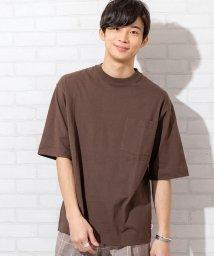 coen/USAコットンヘビーウェイトビッグシルエットポケットTシャツ(一部WEB限定カラー)#/502841966