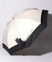 "LANVIN en Bleu(umbrella)/LANVIN en Bleu 晴雨兼用傘 ""切り継ぎ ビジューリボン""/502931722"