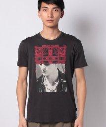 SISLEY/ペインティングプリント半袖Tシャツ・カットソー/503007083