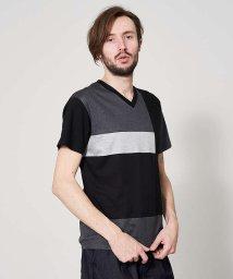 5351POURLESHOMMES/【20SS】アリオリティ・マルチブロック 半袖Tシャツ【予約】/503036063