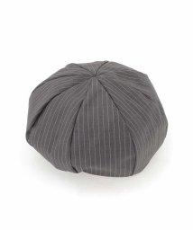 a.v.v (MEN)/ピンストライプ柄ベレー帽/503036272