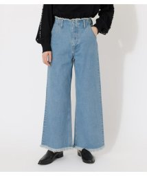 AZUL by moussy/FRINGE DENIM WIDE/503036366