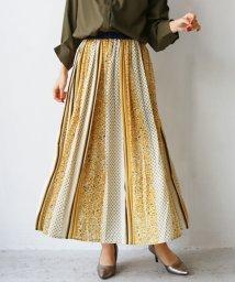 REAL CUBE/マルチ柄デザインスカート/503039186