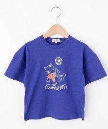 SHOO・LA・RUE(Kids) /【80-120cm】スポーツアニマル五分袖Tシャツ/503039606