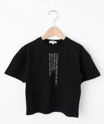 SHOO・LA・RUE(Kids) /【90-130cm/mamaリンク】アソートロゴ五分袖Tシャツ/503039607