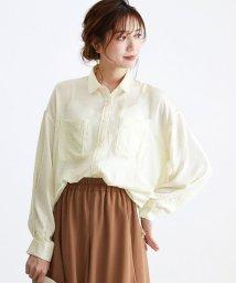 HAPPY EXP/ヴィンテージサテンBIGシャツ/503039642