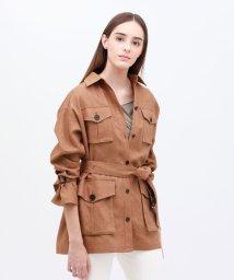 LOVELESS WOMEN/【otona MUSE掲載商品】コンチネンタルリネン シャツ ジャケット/503039936